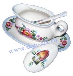Набор для соуса Для гостей - посуда ручной работы